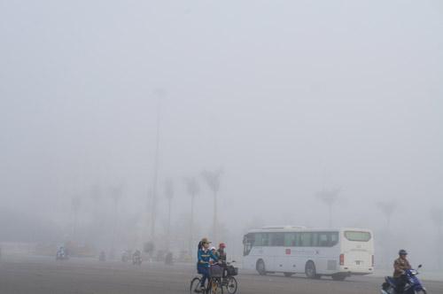 Quảng Nam: Sương mù phủ trắng thành phố Tam Kỳ - 10