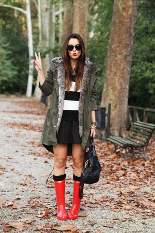 Sai lầm trong việc mặc đồ ngày mưa gió - 2