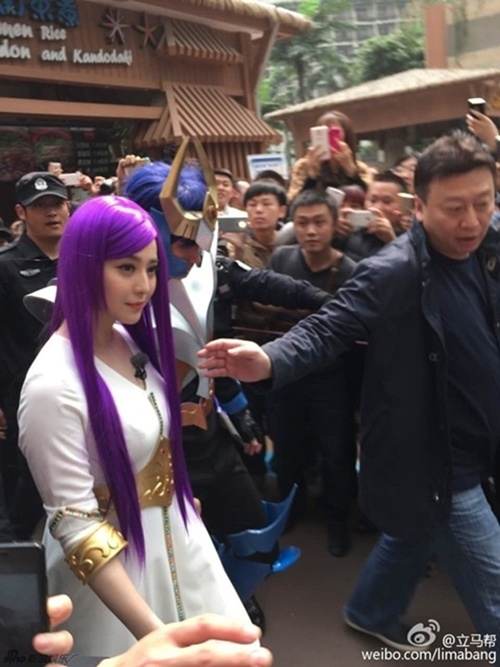 Hàng nghìn fan giẫm đạp lên nhau vì Phạm Băng Băng - 2