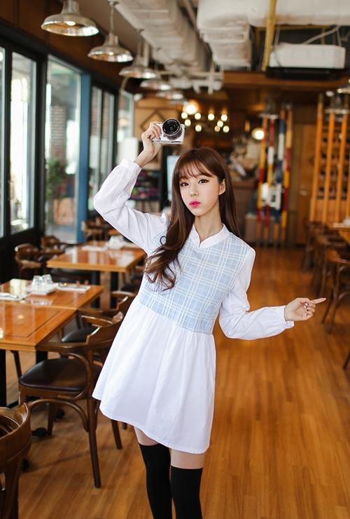 Nàng công sở chọn váy ngọt ngào cho ngày mưa xuân - 7