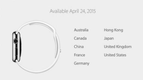 Những thông tin chi tiết Apple Watch - 2