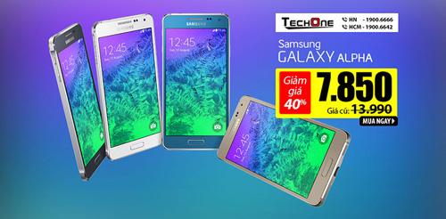 Lý do Samsung Galaxy Alpha hút khách hơn Samsung Note 4 - 4