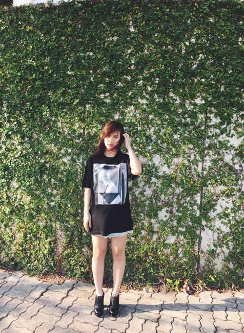 Cô chủ shop dễ thương mê áo in họa tiết - 12