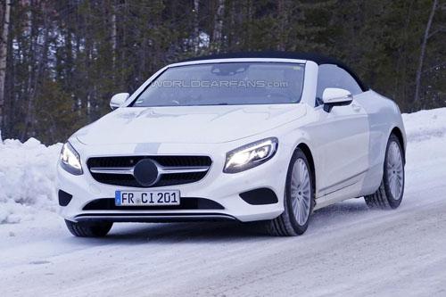Lộ ảnh Mercedes-Benz S-Class mui trần thiết kế mới - 3