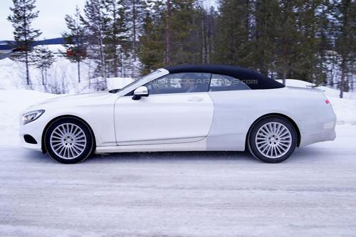 Lộ ảnh Mercedes-Benz S-Class mui trần thiết kế mới - 7