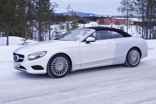 Lộ ảnh Mercedes-Benz S-Class mui trần thiết kế mới - 4