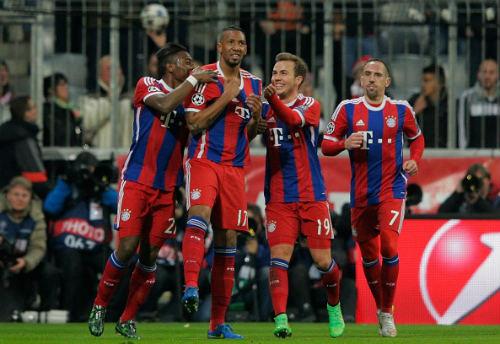 Bayern - Shakhtar: Sau thẻ đỏ là 7 bàn thắng - 1