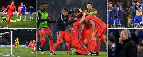 """Chelsea bị loại: """"Cái chết"""" được báo trước - 1"""