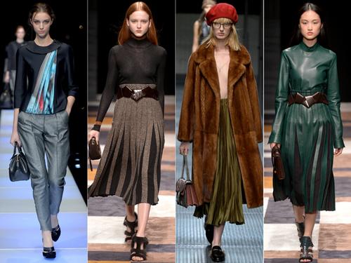 """9 xu hướng thời trang được """"lăng xê"""" tại sàn diễn Milan - 3"""