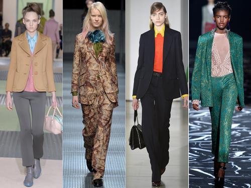 """9 xu hướng thời trang được """"lăng xê"""" tại sàn diễn Milan - 5"""