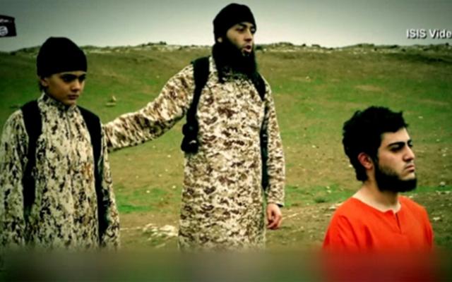 """Lộ danh tính """"đao phủ nhí IS"""" hành quyết """"gián điệp"""" Israel - 1"""
