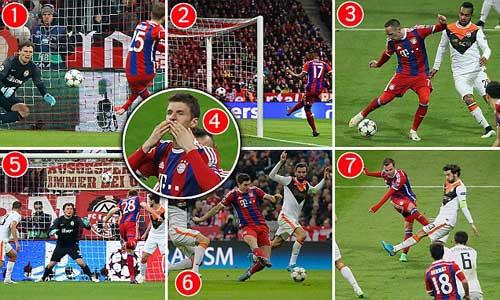 Hơn cả đánh tennis, Bayern thách thức Real, Barca - 1