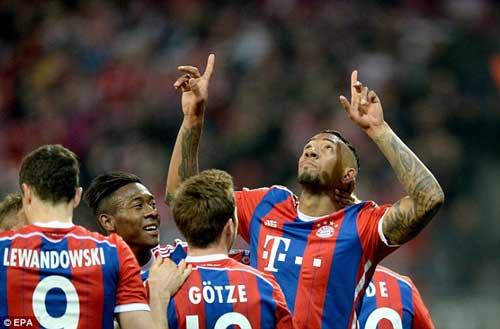 Hơn cả đánh tennis, Bayern thách thức Real, Barca - 2