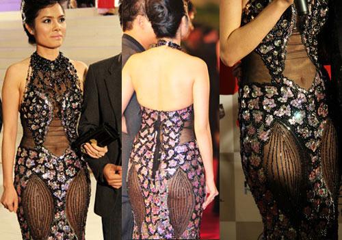 8 bộ váy gây tranh cãi của sao Việt tại liên hoan phim - 10