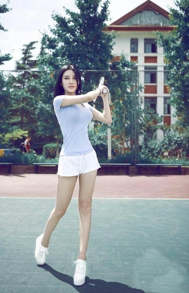 Hot girl ĐH Bắc Kinh khoe ảnh tập thể hình đẹp hút hồn - 8