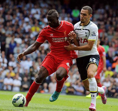 """Liverpool: Balotelli chưa hẳn là """"đồ bỏ đi"""" - 1"""