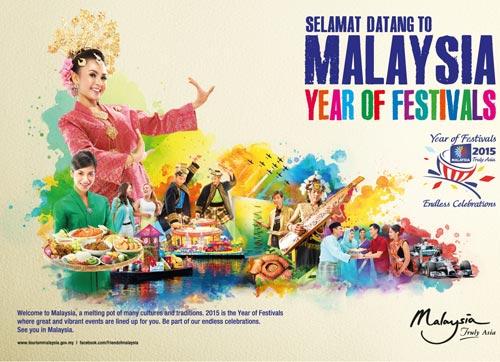 Malaysia 2015 – Năm của các lễ hội - 1