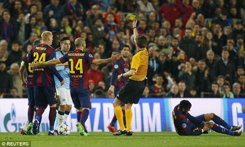 Nasri xứng đáng bị đuổi vì pha vào bóng ác ý với Neymar - 2