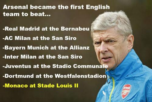 Wenger muốn đá Europa League để dễ vô địch - 3