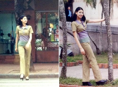 """Lộ ảnh """"độc"""" của 3 hoa hậu xinh đẹp 15 năm về trước - 18"""