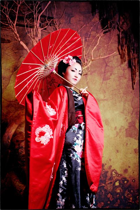 Hot girl HV Ngoại giao hóa thân thành nàng geisha Nhật - 2