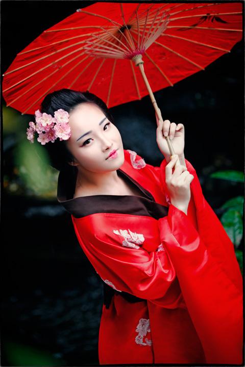 Hot girl HV Ngoại giao hóa thân thành nàng geisha Nhật - 3