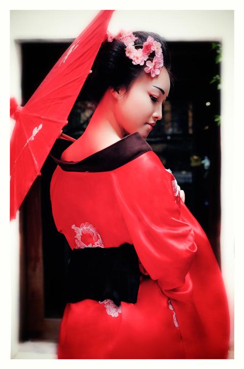 Hot girl HV Ngoại giao hóa thân thành nàng geisha Nhật - 7