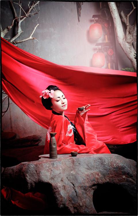 Hot girl HV Ngoại giao hóa thân thành nàng geisha Nhật - 6