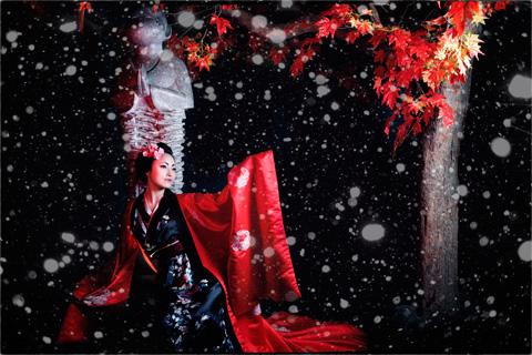 Hot girl HV Ngoại giao hóa thân thành nàng geisha Nhật - 4