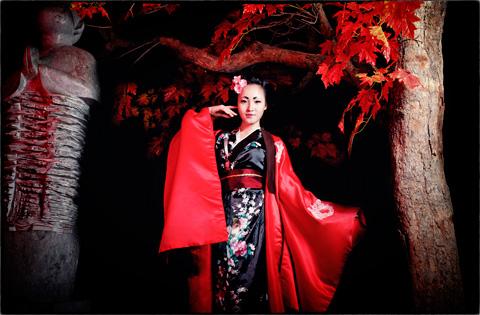 Hot girl HV Ngoại giao hóa thân thành nàng geisha Nhật - 9