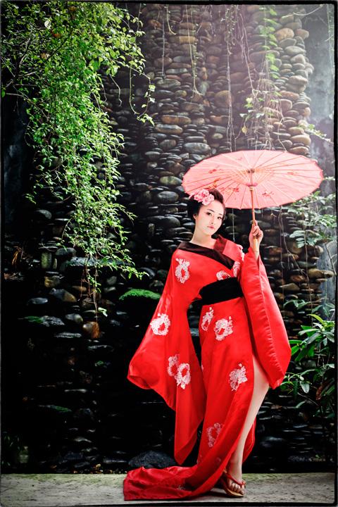 Hot girl HV Ngoại giao hóa thân thành nàng geisha Nhật - 8
