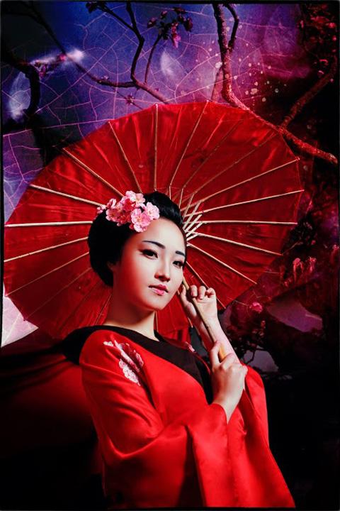 Hot girl HV Ngoại giao hóa thân thành nàng geisha Nhật - 10