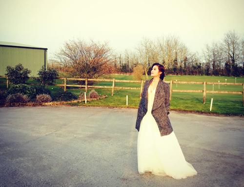 Á hậu Huyền My xinh tươi chụp hình váy cưới ở London - 2