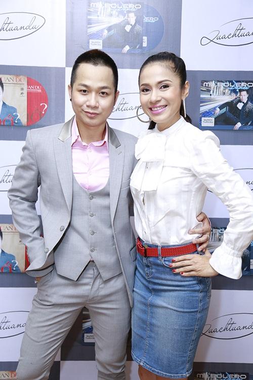 Việt Trinh, Quang Lê ủng hộ Quách Tuấn Du hát nhạc sến - 3