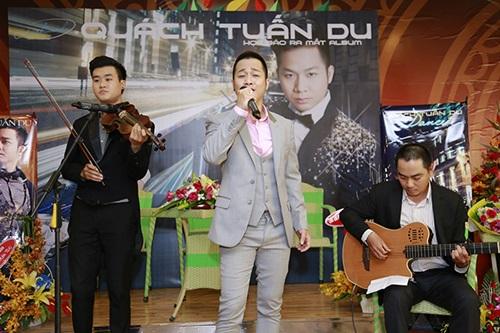 Việt Trinh, Quang Lê ủng hộ Quách Tuấn Du hát nhạc sến - 9