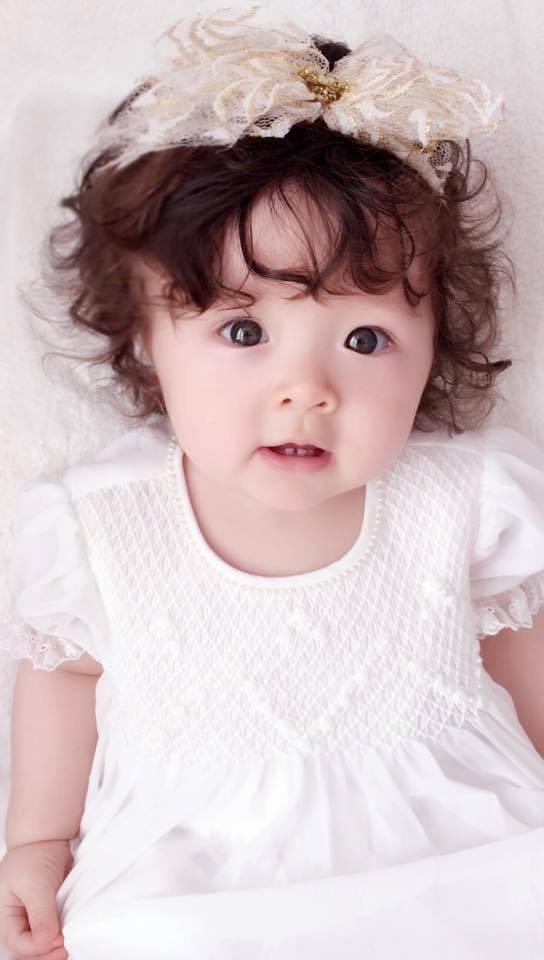 Những hình ảnh xinh như thiên thần của bé Cadie Mộc Trà - 4