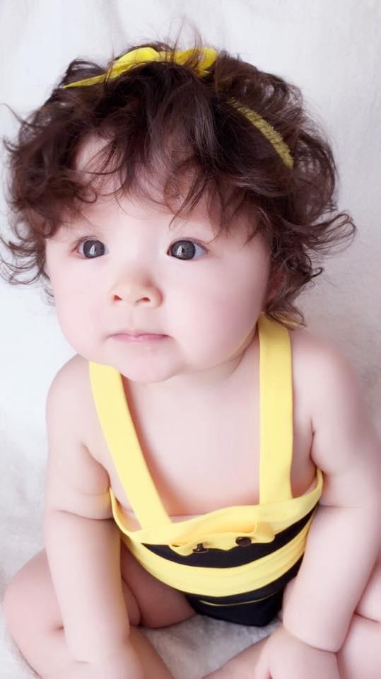 Những hình ảnh xinh như thiên thần của bé Cadie Mộc Trà - 2