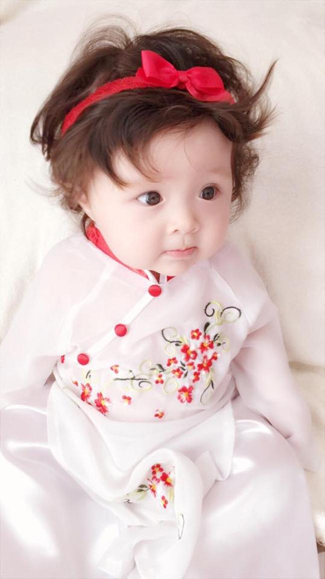 Những hình ảnh xinh như thiên thần của bé Cadie Mộc Trà - 10