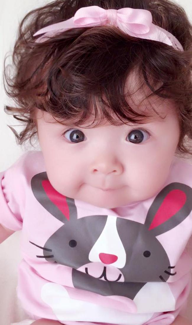 Những hình ảnh xinh như thiên thần của bé Cadie Mộc Trà - 9