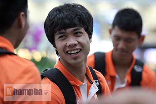 """Công Phượng & U23 VN hào hứng đi Thái Lan """"thử lửa"""" - 12"""