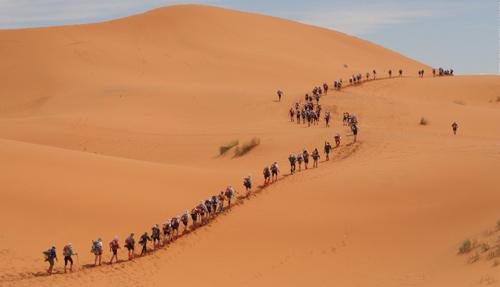 """Đùa với tử thần: """"Đánh cược"""" mạng sống ở Sahara"""