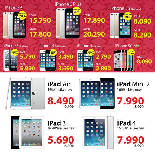 """Cách chọn mua iPhone, iPad """"lướt"""" - 3"""