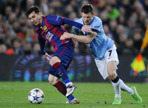 """Ancelotti và kế hoạch """"bắt chết"""" Messi - 1"""