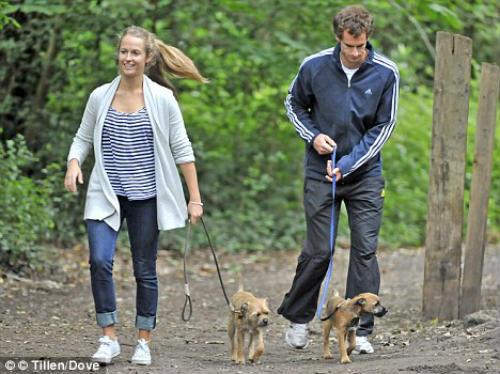 Tin HOT 20/3: Murray đặt tên cún cưng theo tên bạn gái - 1
