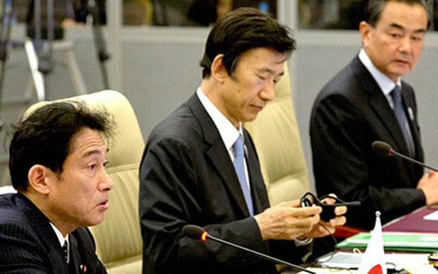 """Trung, Nhật, Hàn đàm phán """"hâm nóng"""" quan hệ - 1"""