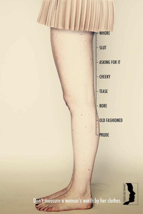Cứ mặc váy siêu ngắn là hư hỏng? - 1