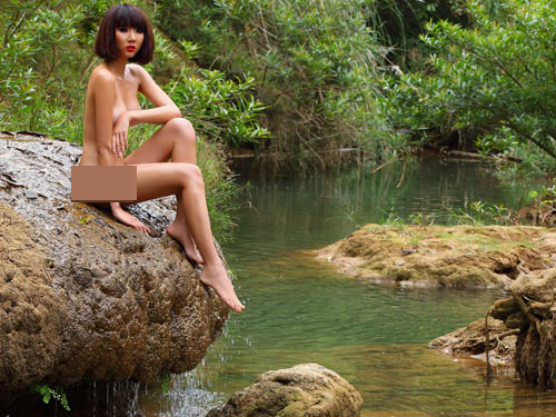 Muôn kiểu khỏa thân đáng nhớ để bảo vệ môi trường - 6