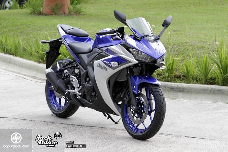 Ngắm chi tiết chiếc Yamaha R25 ABS mới