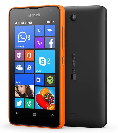 Ra mắt Lumia 430 hai SIM giá chỉ 1,5 triệu đồng - 3