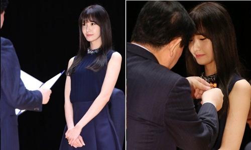 """""""Nữ thần"""" YoonA (SNSD) liên tục được vinh danh - 2"""